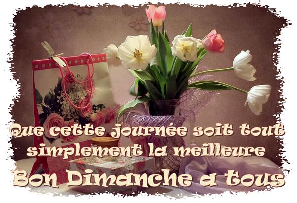 Bonjour Et Bon Dimanche